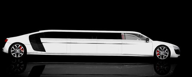 La naiba cu criza! Limo Broker anunta prima limuzina Audi R8 din lume