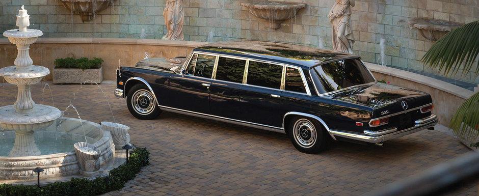 La un moment dat a fost masina preferata a presedintilor. Cu cat se vinde azi un MERCEDES 600 PULLMAN