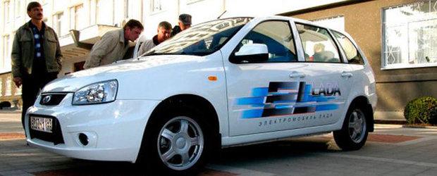 Lada EL, prima masina electrica ruseasca, a intrat in teste