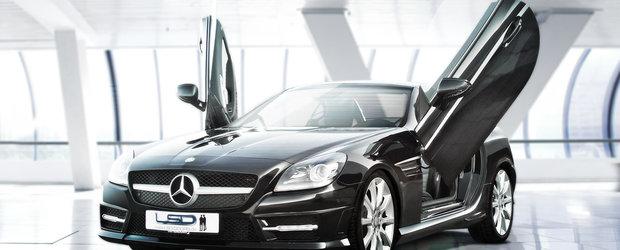 Lambo Doors pentru noul Mercedes SLK
