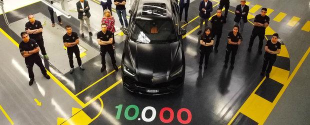 Lamborghini a dat lovitura cu URUS. Italienii au produs si vandut deja 10.000 de exemplare