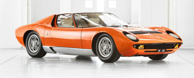 Lamborghini a gasit masina dupa 5 decenii. Acesta este legendarul Miura din filmul The Italian Job