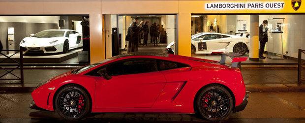 Lamborghini a livrat peste 1.600 de masini in 2011