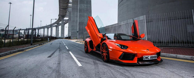 Lamborghini Aventador by DMC sau Cum arata un tuning de 125.000 euro