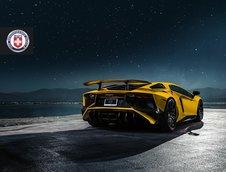 Lamborghini Aventador LP750-4 SuperVeloce cu jante HRE