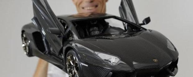 Lamborghini Aventador, mai scump in miniatura decat in realitate