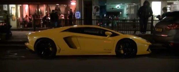 Lamborghini Aventador, pe strazile din Qatar