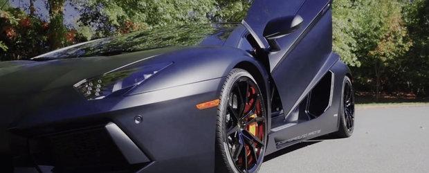 Lamborghini Aventador primeste tratamentul Underground Racing si devine un soi de Veyron-killer