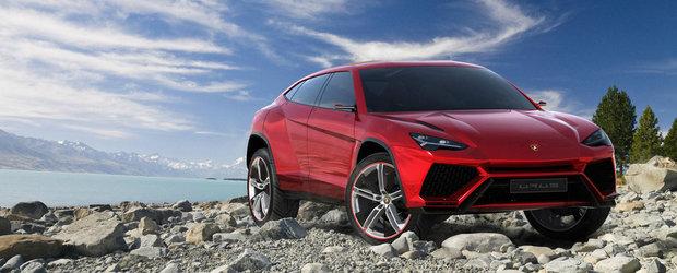Lamborghini confirma: SUV-ul Urus intra in productie in aprilie