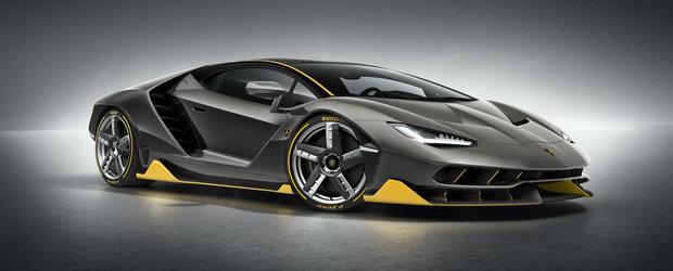 Lamborghini continua seria lansarilor extravagante: noul Centenario are 770 CP si costa 1,75 mil. euro