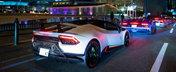 Orasul in care peste 200 de masini marca Lamborghini au iesit pe strazi. Imagini incredibile din trafic