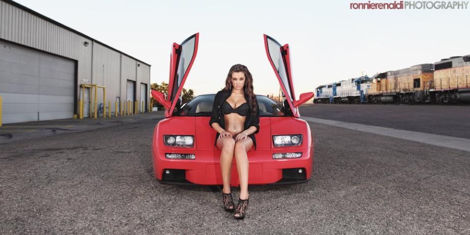 Lamborghini Diablo VT si Jenna Balsley - Lamborghini Diablo VT si Jenna Balsley