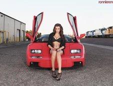 Lamborghini Diablo VT si Jenna Balsley