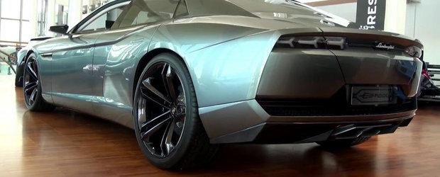 Lamborghini Estoque revine pe micile si marile noastre ecrane