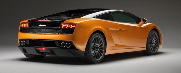 Lamborghini Gallardo LP560-4 Bicolore debuteaza in Qatar, printre dunele de nisip