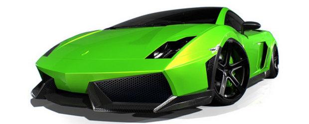 Lamborghini Gallardo LP560-4 by AMV Design - Spiridusul Verde ajunge pe strazi
