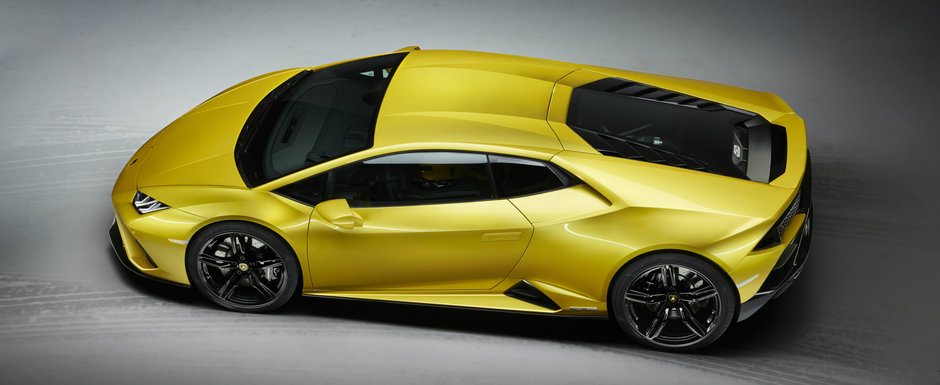 Lamborghini Huracan EVO, de-acum si RWD. Sportiva italiana face suta in 3.3 secunde