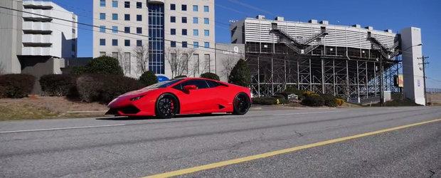 Lamborghini Huracan isi trage versiune de 2200 CP la roti. Secretul supercarului italian