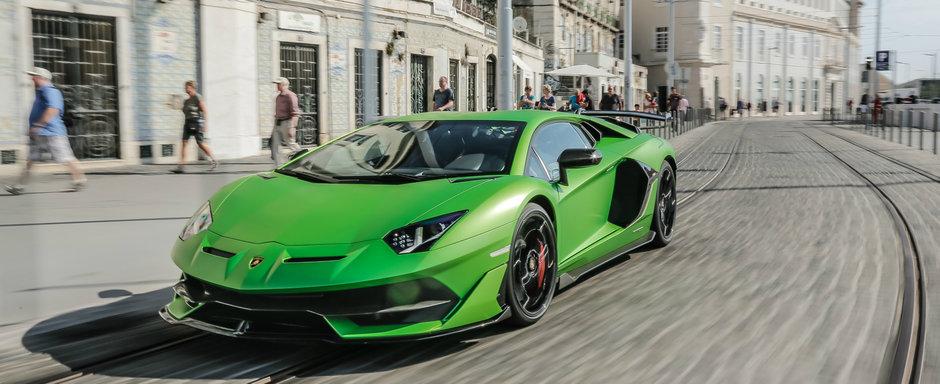Lamborghini isi sfatuieste clientii sa nu mai conduca modelul AVENTADOR SVJ