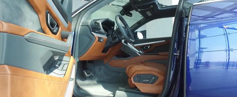 Lamborghini l-a invitat sa vada noul SUV. A luat camera cu el si a filmat TOT