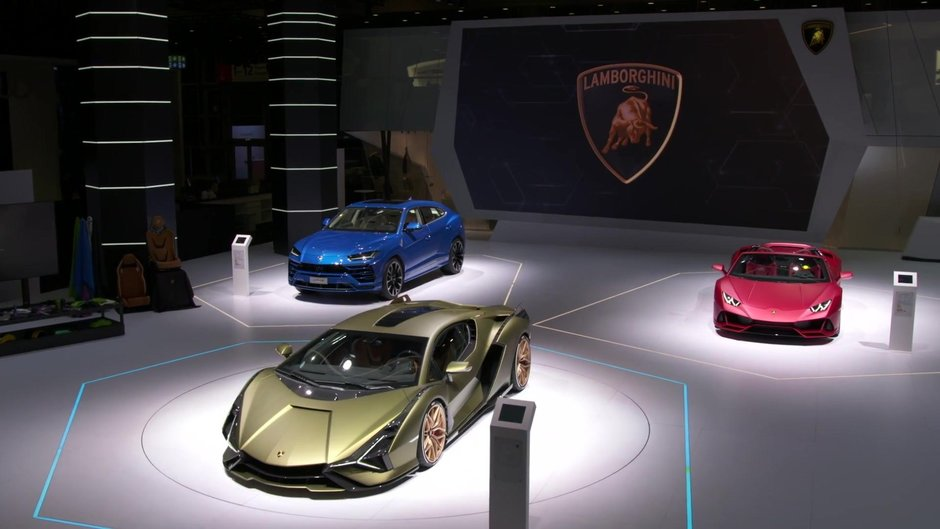 Lamborghini la saloane auto