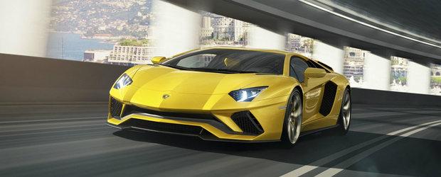 Lamborghini lanseaza Aventador-ul facelift si il boteaza Aventador S