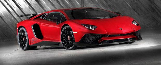 Lamborghini limiteaza productia noului Aventador SV la numai 600 de bucati