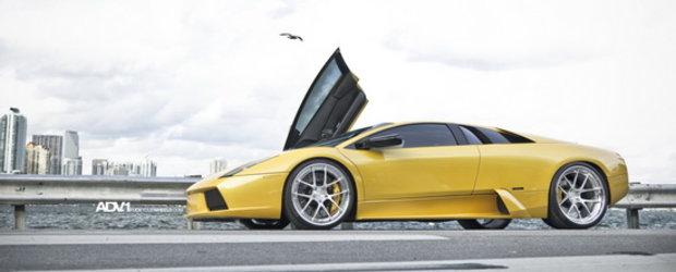 Lamborghini Murcielago. Jante ADV1. O noua definitie a cuvantului EPIC.