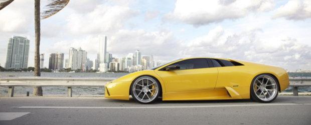 Lamborghini Murcielago. Jante ADV1. Teaser. O noua aparitie EPICA!