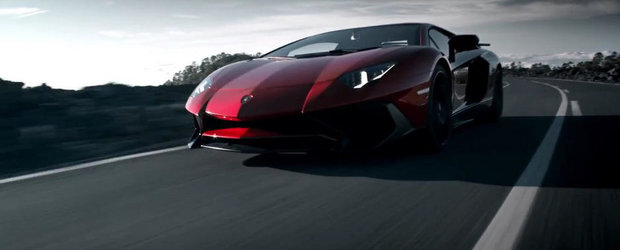 Lamborghini prezinta in actiune noul Aventador LP750-4 SuperVeloce