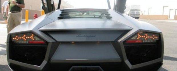 Lamborghini Reventon a ajuns in Las Vegas