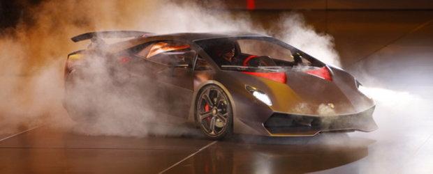 Lamborghini Sesto Elemento - Manifestul supercarurilor Lamborghini!