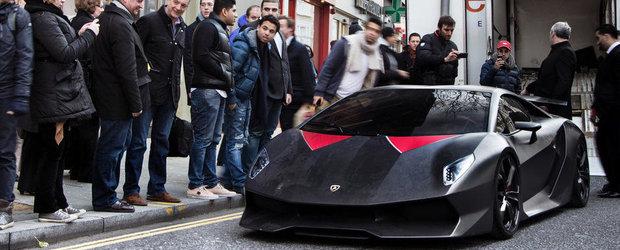 Lamborghini Sesto Elemento viziteaza Londra. VIDEO AICI!