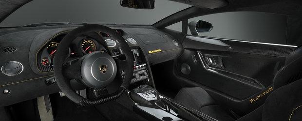 Lamborghini si Blancpain prezinta editia limitata de Gallardo LP 570-4
