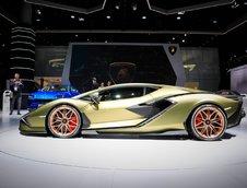 Lamborghini Sian la Frankfurt