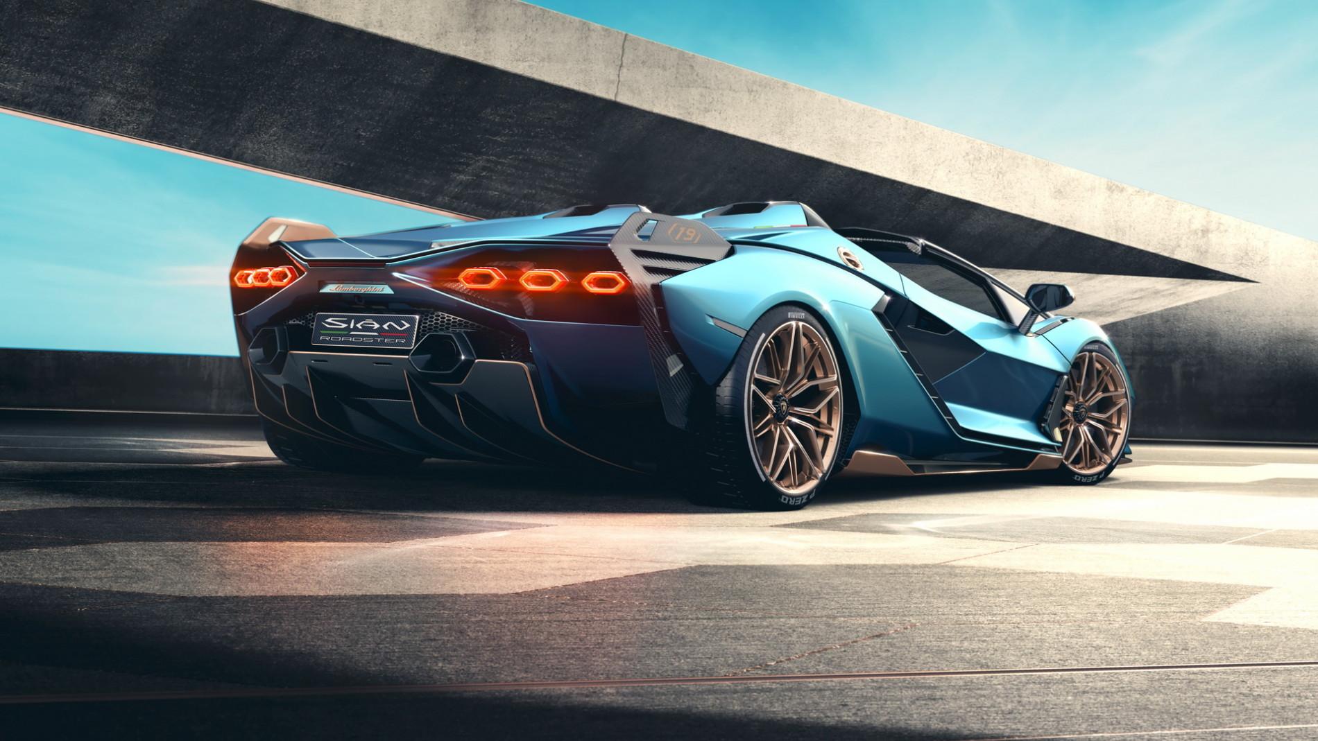 Lamborghini Sian Roadster - Lamborghini Sian Roadster