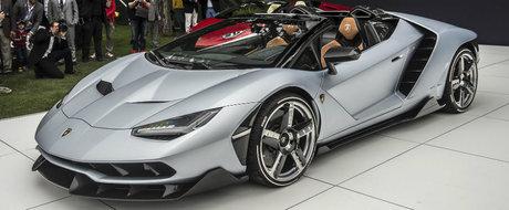 Lamborghini tocmai a lansat Centenario Roadster, iar asa cum v-ati fi asteptat, toate exemplarele au fost deja vandute