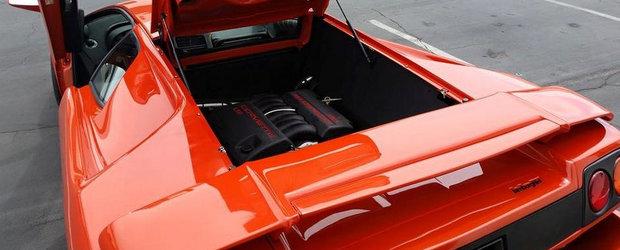 Lamborghini-ul cu motor de Chevrolet Corvette nu este pentru cei slabi de inima