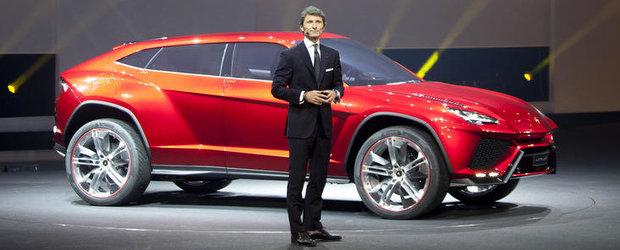 Lamborghini Urus Concept - Noi imagini, plus primele cadre video