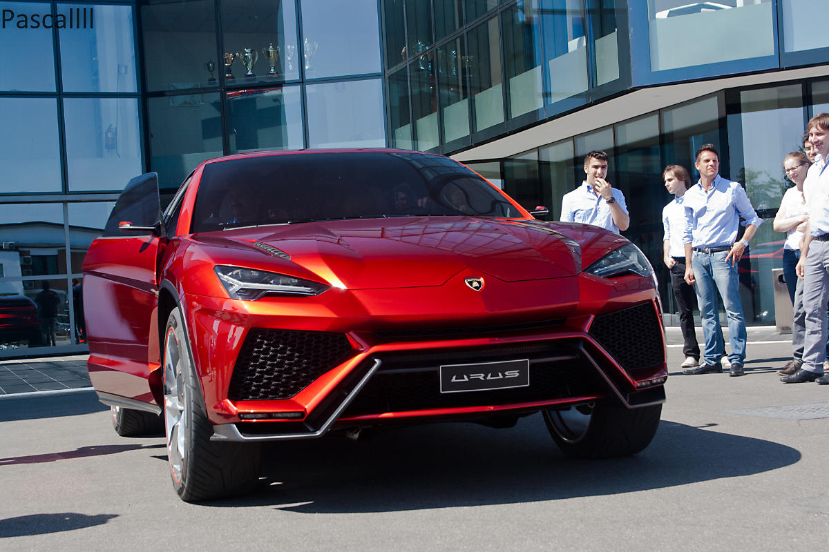 Lamborghini Urus Concept - Poze reale - Lamborghini Urus Concept - Poze reale
