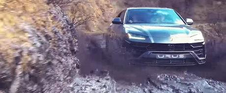 Lamborghini Urus intr-o ipostaza cum rar il poti vedea. Se impotmoleste sau nu super SUV-ul italian?