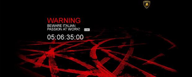 Lamborghini va dezvalui un nou model in cinci zile - EXCLUSIV