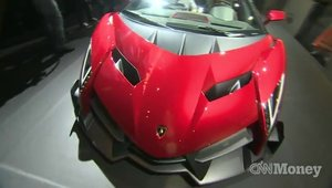 Lamborghini Veneno Roadster by Monster Audio