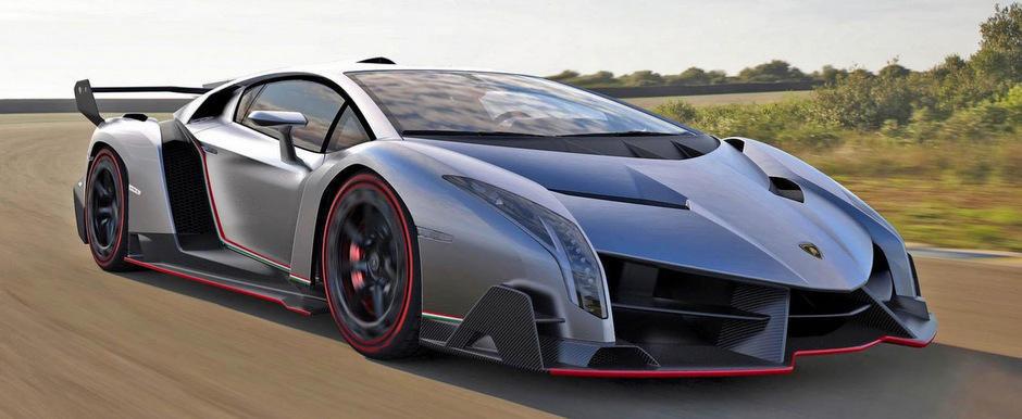 Lamborghini Veneno, supercarul italian de 740 CP si peste 3.5 milioane euro