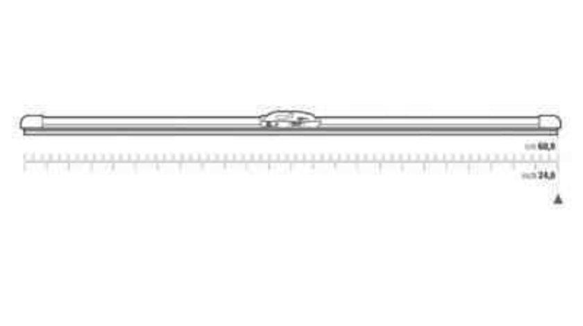 Lamela stergator MERCEDES-BENZ limuzina (W124) Producator RENAULT 288905450R