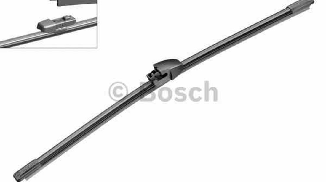 Lamela stergator spate Skoda Yeti, VW Golf VI, Polo 10.08-