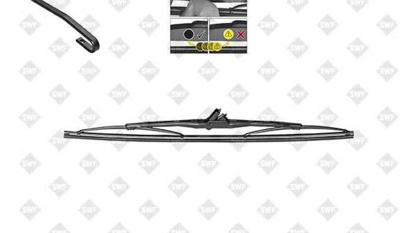 lamela stergator VW JETTA I 16 Producator SWF 116121