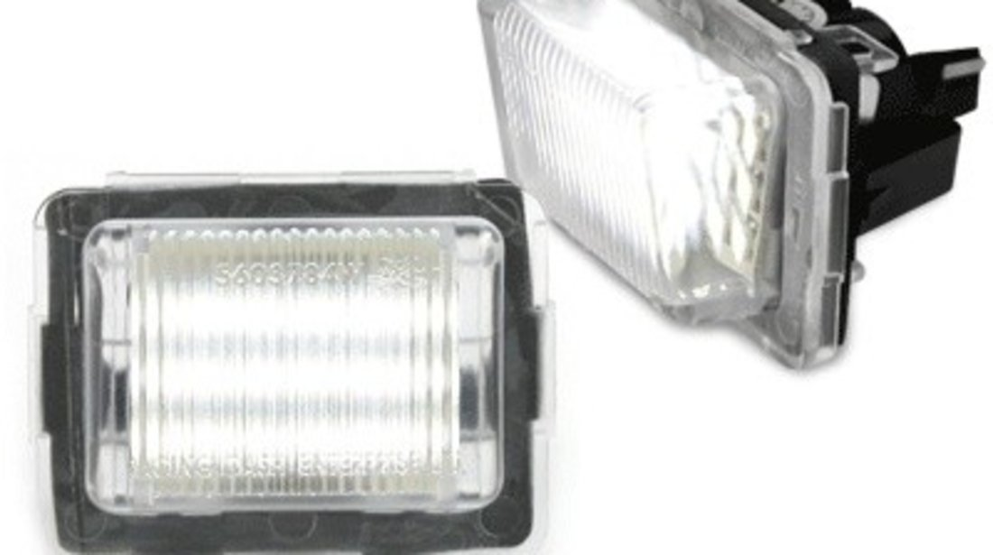 Lampa de numar LED Canbus compatibil cu MERCEDES Benz W204, W221, W212
