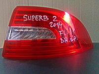 Lampa dreapta spate Skoda Superb 2 Typ 3T, an fabr. 2014, facelift