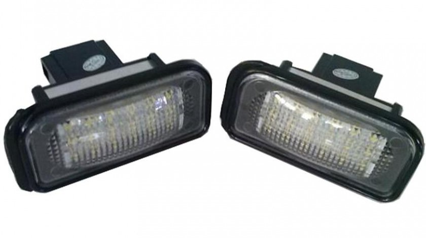 Lampa LED pentru Iluminare Numar Inmatriculare 7206, Mercedes C-Class 2001-2007 W203 Sedan